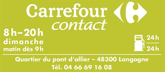 Carrefour Langogne